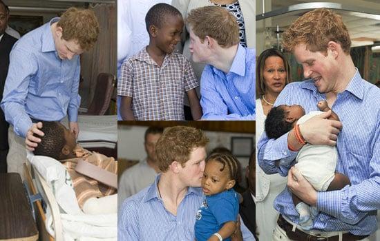Photos of Prince Harry in Barbados