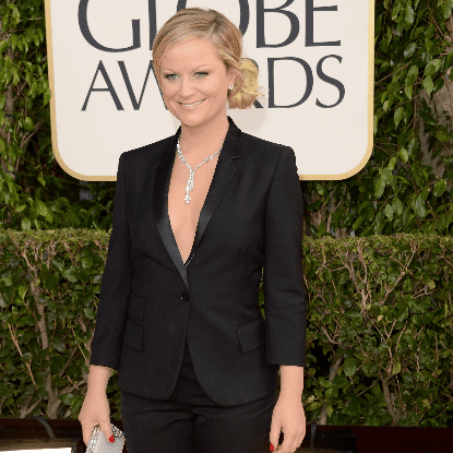 Amy Poehler at the Golden Globes 2013 (Pictures)