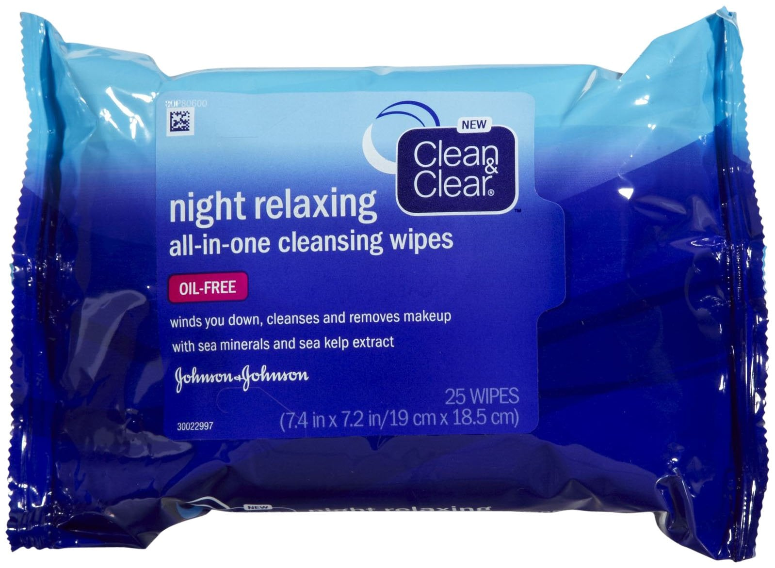 Clean & Clear Night Relaxing All-in-One Cleansing Wipes