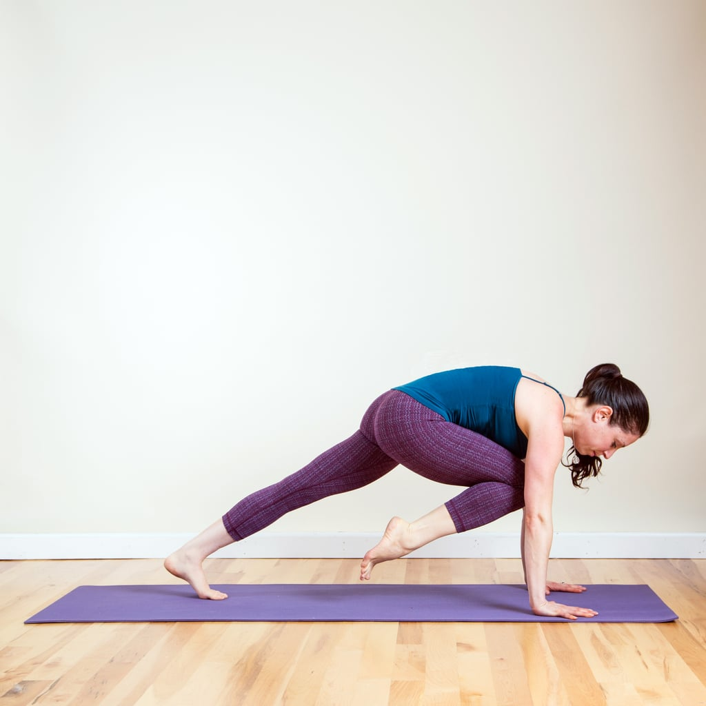 Knee Up Plank
