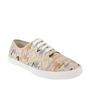 Urban Outfitters Aztec Print Lace-Up ($20)