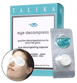 New Product Alert:  Talika Eye Decompress