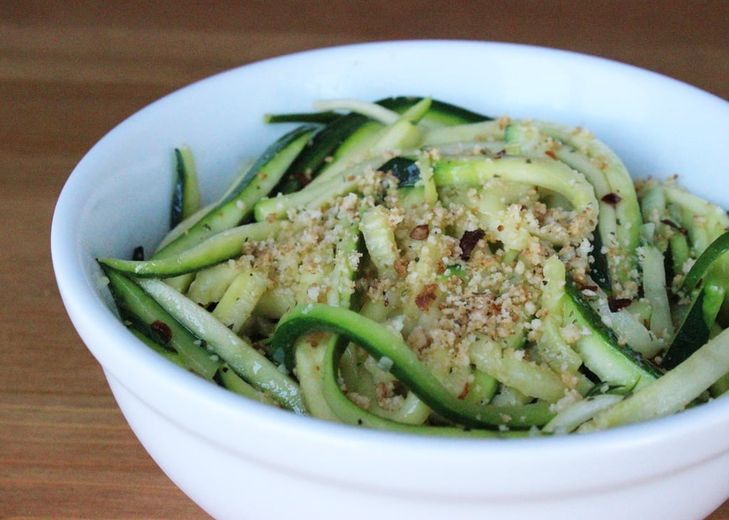 Lunch and Dinner: Zucchini Noodles
