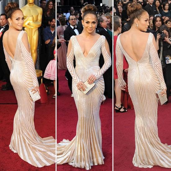 Jennifer Lopez at Oscars 2012