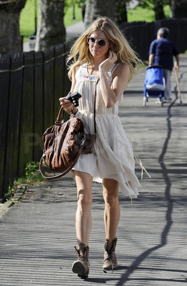 Sienna Miller Jumps Into the Spring of Things