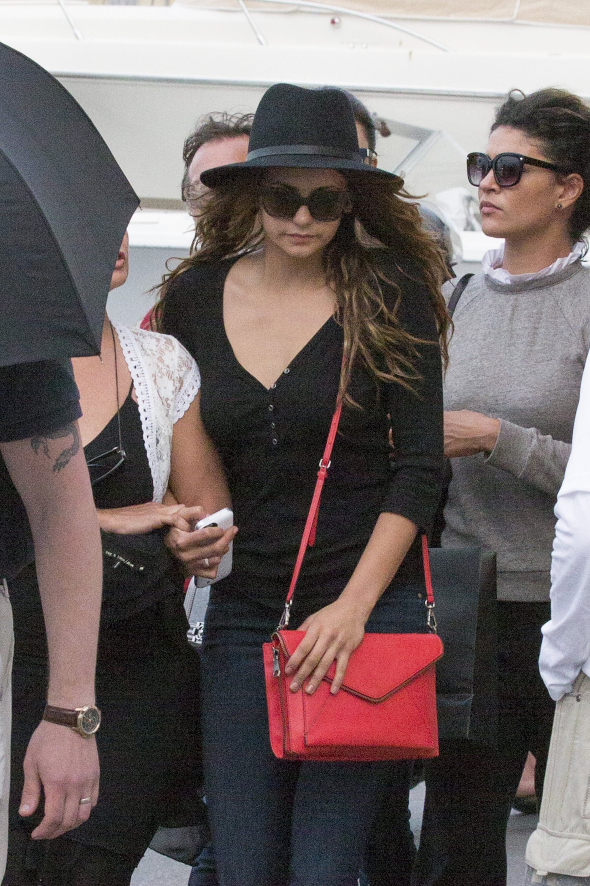 Nina Dobrev and Her Girls Just Wanna Have Fun in the South of France