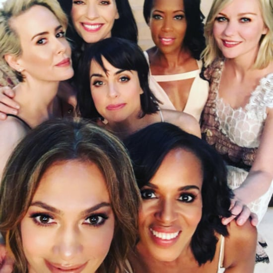 Jennifer Lopez Selfie With Kerry Washington March 2016