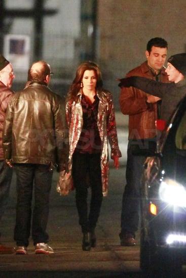 Pictures of Eva Longoria Filming Desperate Housewives in LA