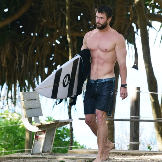 Chris Hemsworth Shirtless in Australia April 2016