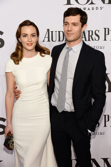 Leighton Meester & Adam Brody Make Their Post Wedding Debut!