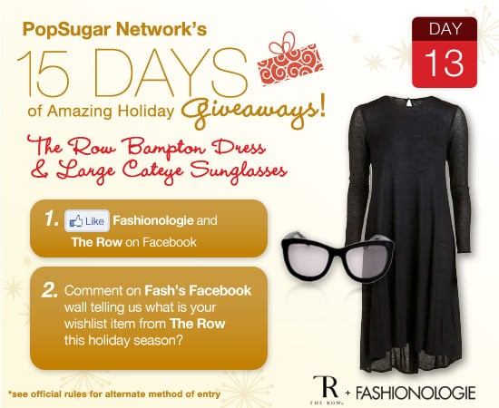 Win Sunglasses and a Dress From The Row on Fashionologie