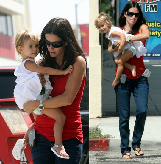 Courteney and The Clown Coco