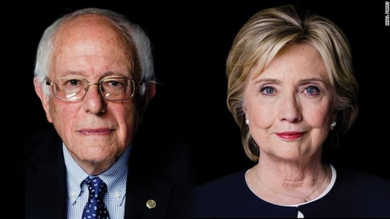 Bernie and Hillary Each Won a State at Yesterday's Primaries