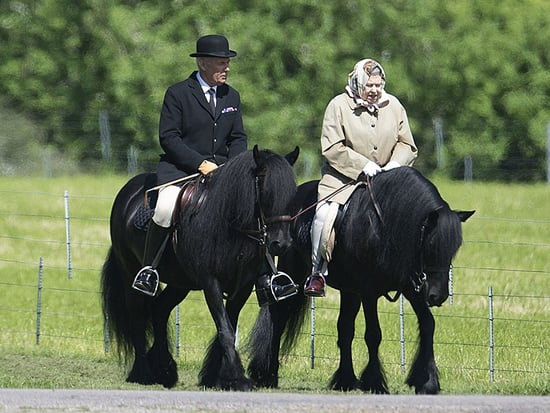 This Photo of the Queen on a Horse (at 90!) Proves She Can Freeze Time
