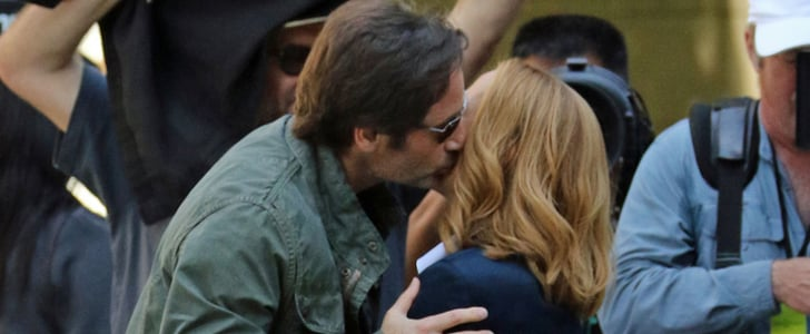 The X-Files Reboot: The First Set Pictures Will Make You Feel Warm and Fuzzy