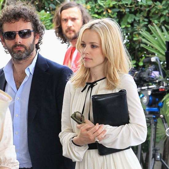Pictures of Rachel McAdams and Michael Sheen in Cannes
