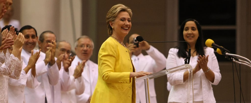 15 Years of Hillary Clinton Pantsuits in 60 Seconds