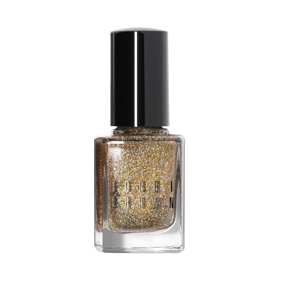 With Bobbi Brown's Glitter Nail Polish in Chrome ($18), you get the perfect blend of silver and gold glitter.