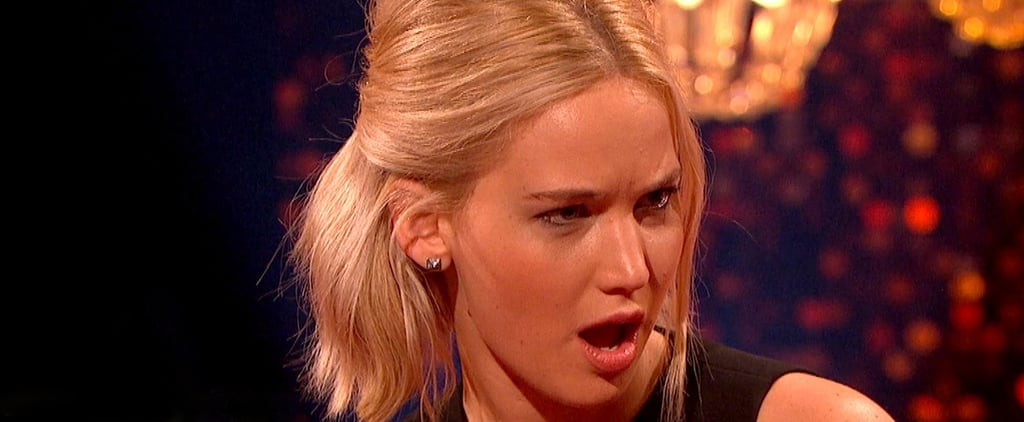 In Which Eddie Redmayne's Accidental Dirty Joke Goes Right Over Jennifer Lawrence's Head