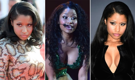 We Can't Get Over Nicki Minaj's Magically Changing Mane at the VMAs