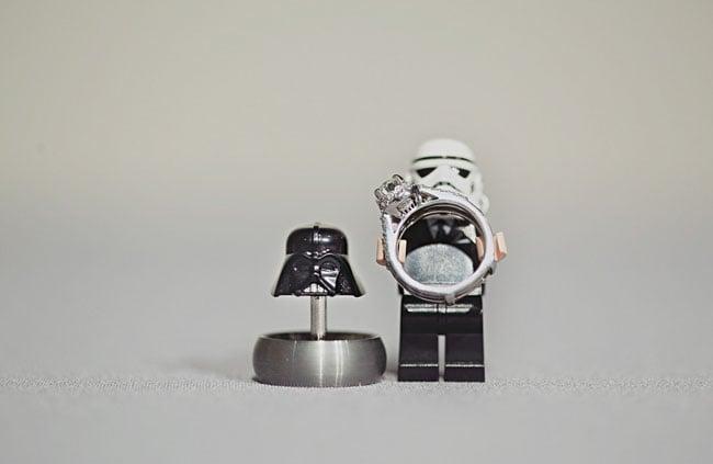 Lego Ring Holders