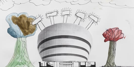 Why The Best Painting At The Guggenheim This Summer Was Made By A Third Grader
