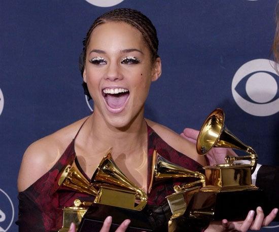 Alicia Keys picked up multiple awards in 2002.