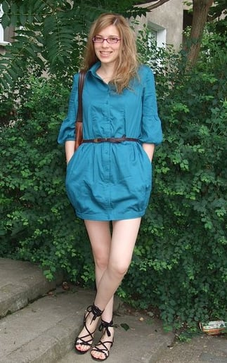 Look of the Day: Turquoise Treat