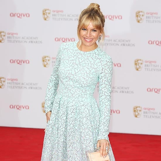 Sienna Miller in Matthew Williamson at London BAFTA | Video