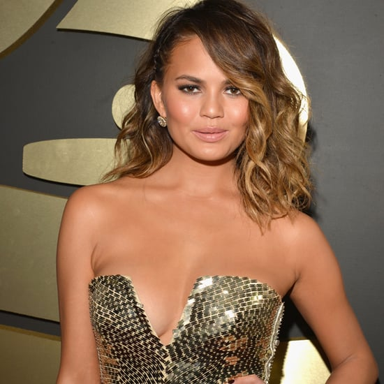 Chrissy Teigen's Dress at Grammys 2014