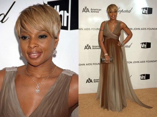 Elton John AIDS Foundation Oscar Party: Mary J. Blige