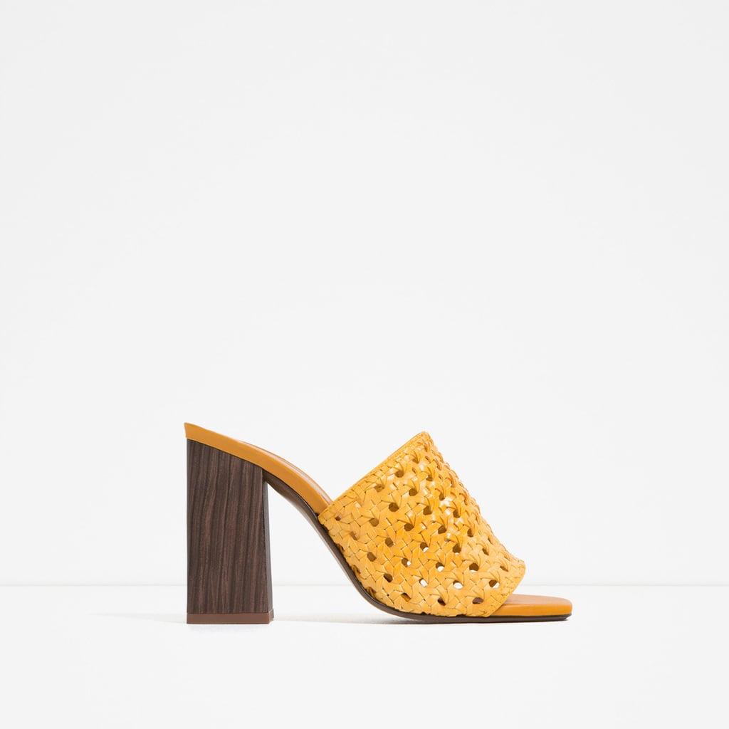 Zara Braided Mules ($90)