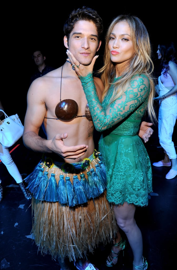 In 2014, Jennifer Lopez reunited with Tyler Posey, who played her son in 2002's Maid in Manhattan.