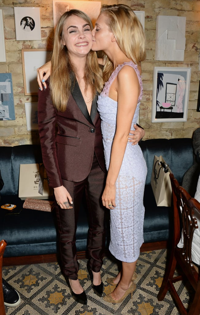 Cara and Poppy Delevingne