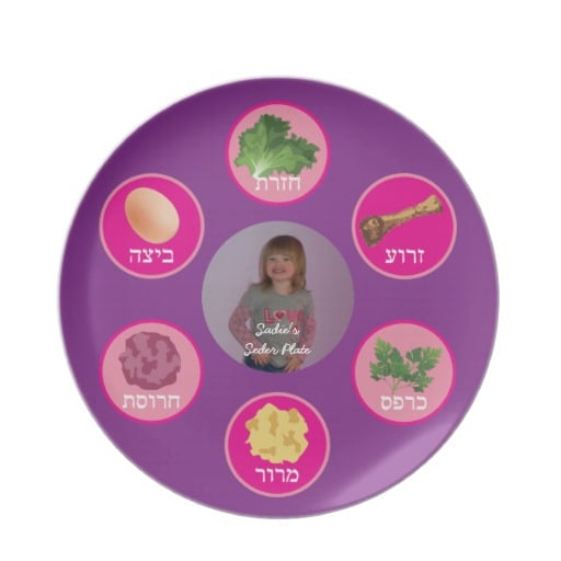 Personalized Seder Plate