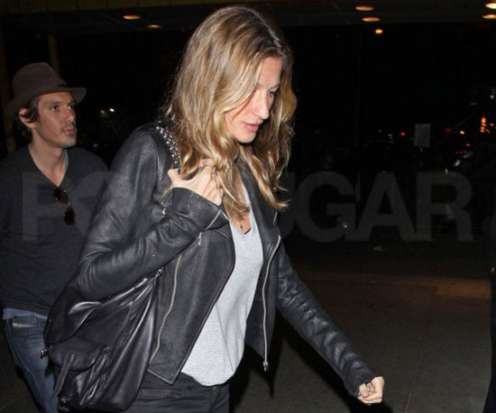 Slide Picture of Gisele Bundchen in New York