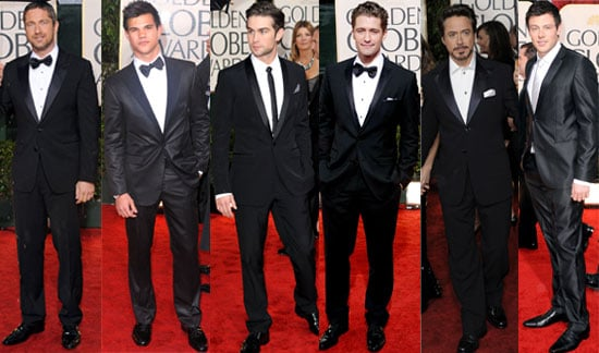 Photos of the Celeb Men in Their Suits on the Red Carpet at the Golden Globes