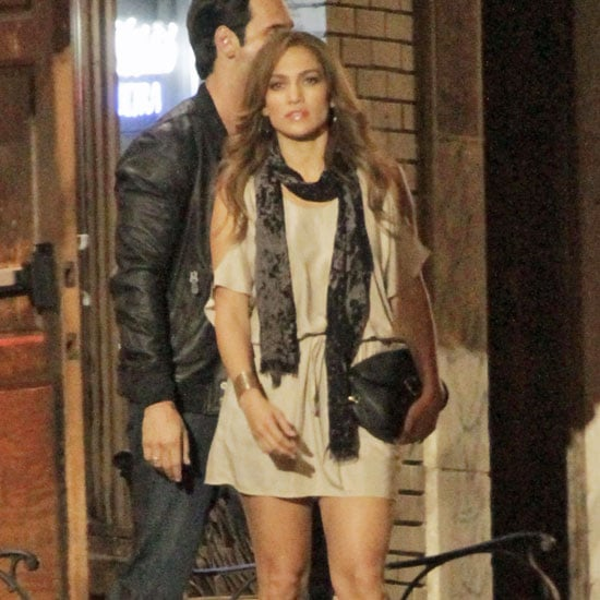 Jennifer Lopez Pictures Shooting What to Expect When You're Expecting