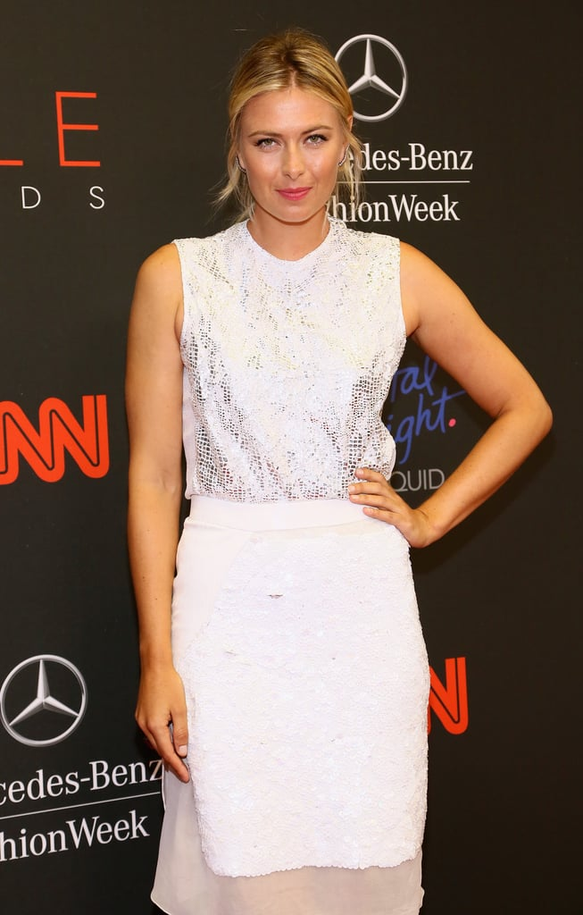 Maria Sharapova attended the event.