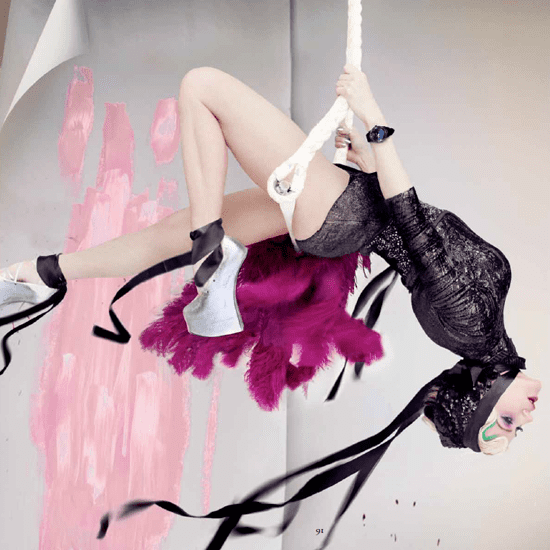 Daphne Guinness by Nick Knight For Haute Living | 2012