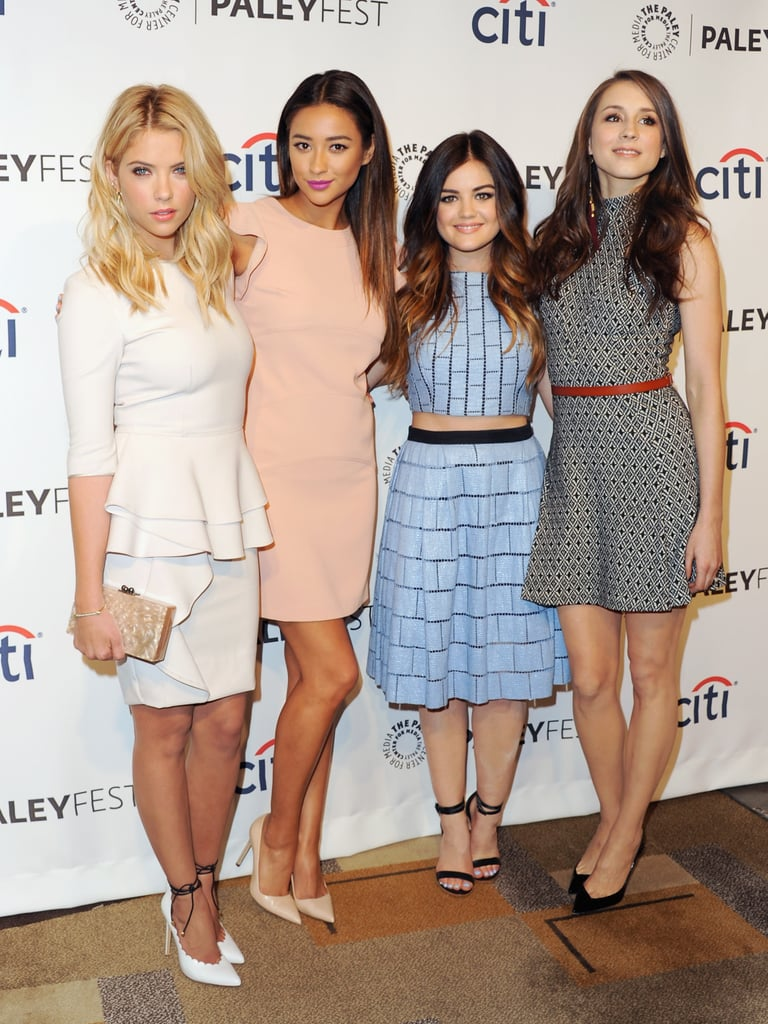 Ashley Benson, Shay Mitchell, Lucy Hale, and Troian Bellisario