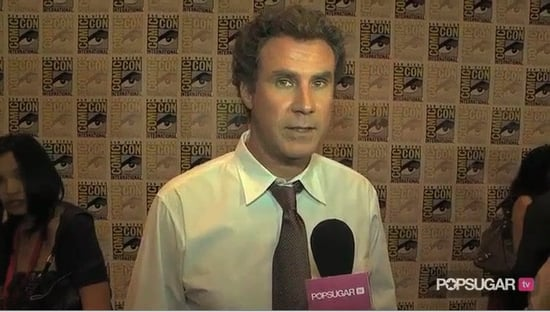 Video of Will Ferrell at Comic-Con For The Other Guys
