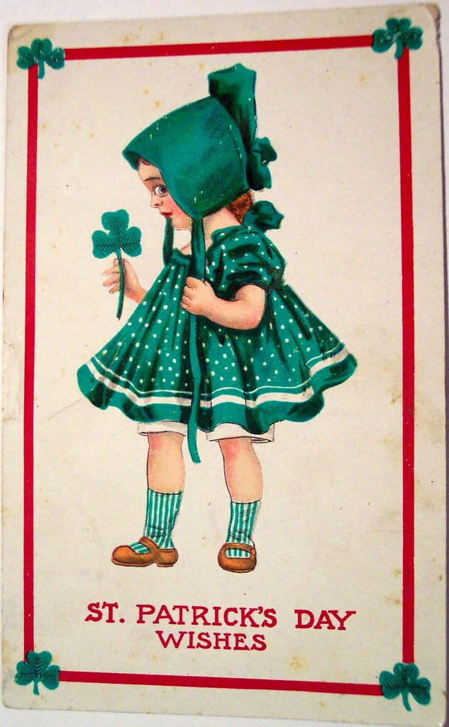 This creepy St. Patty's Day girl may kill you . . . Source: Flickr User riptheskull