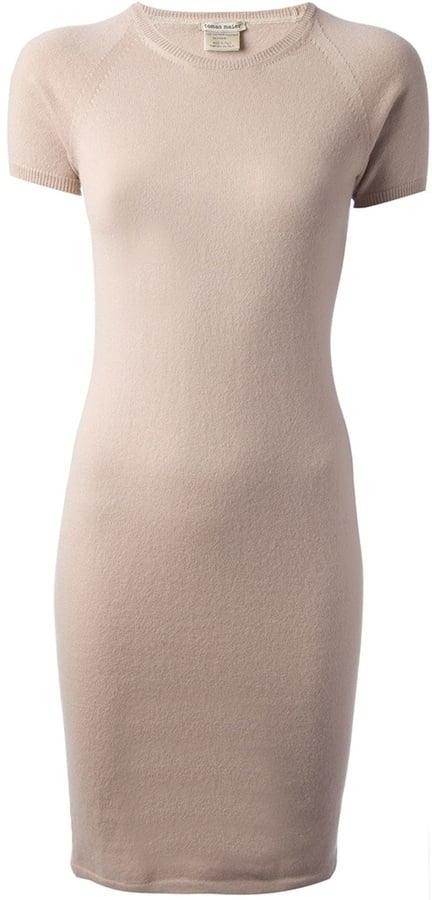 Tomas Maier Nude Dress