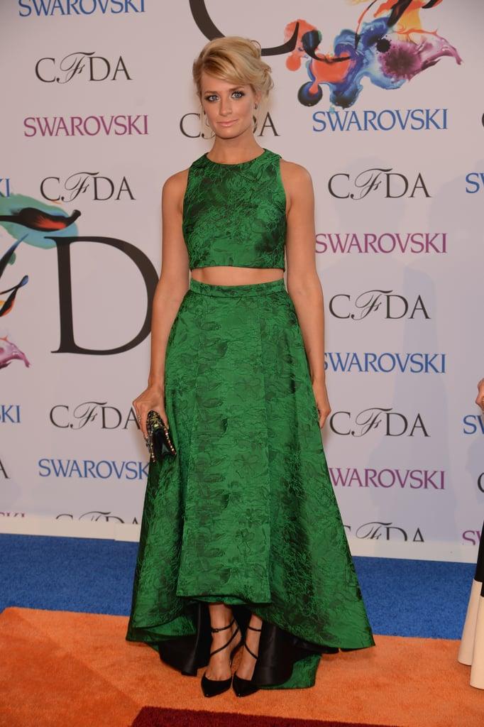 Beth Behrs at the 2014 CFDA Awards