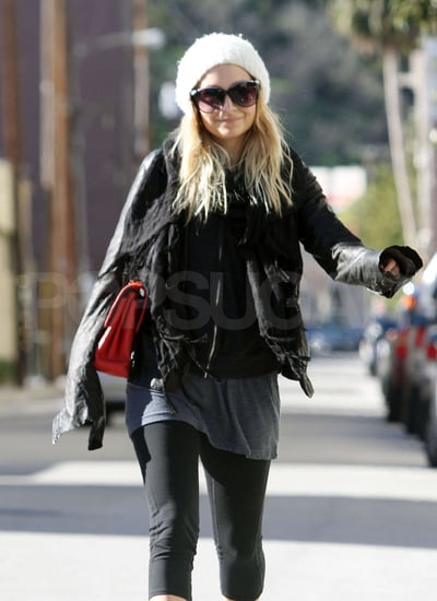 Pictures of Nicole Richie at the Gym in LA