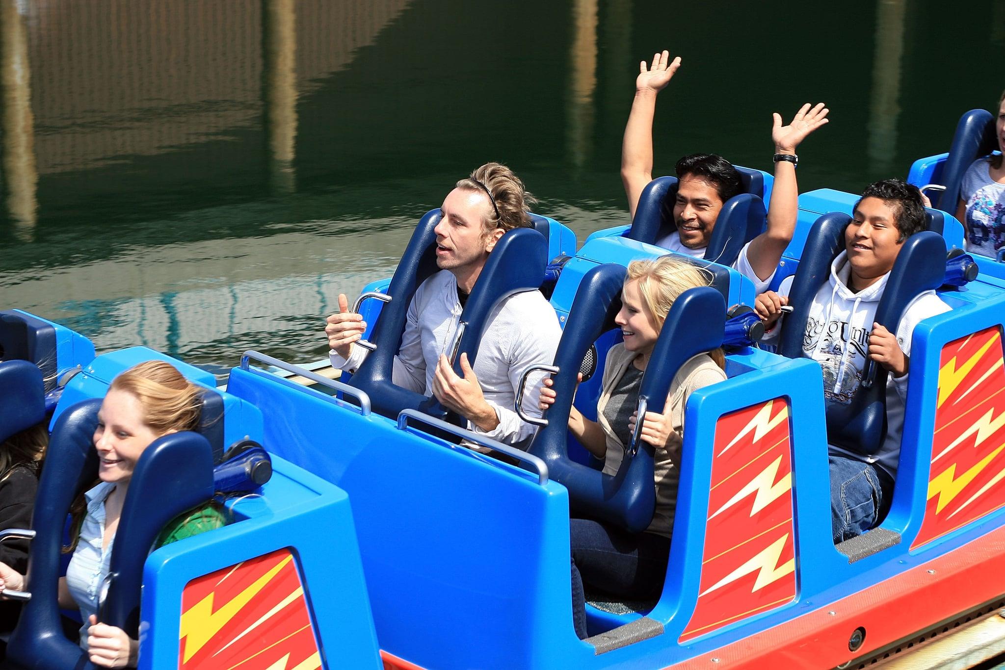 Kristen and Dax visited Disney California Adventure Park in April 2008.