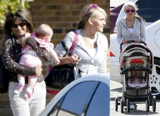 Photos of Jamie Lynn Spears Bringing Daughter Maddie To The Doctor in Mississippi