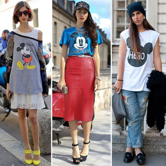 Mickey Mouse T-Shirts | Street Style