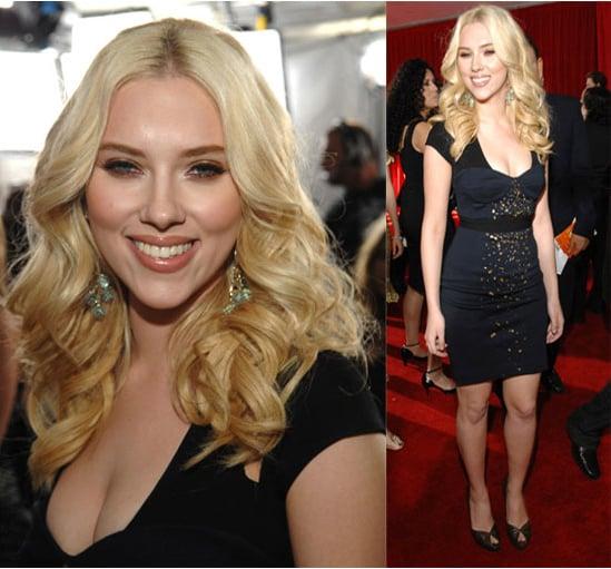 The Grammys Red Carpet: Scarlett Johansson